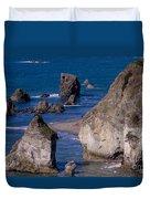 Seastacks Duvet Cover