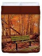 Seat To Autumn Duvet Cover