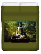Seated Buddha Duvet Cover