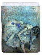 Seated Dancer Duvet Cover