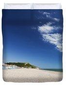 Seaton Beach Devon Duvet Cover