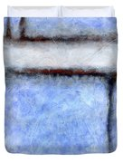 Seattle Afternoon Abstract Duvet Cover