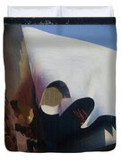 Seattle Center Experience Music Project Duvet Cover