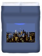 Seattle City Duvet Cover