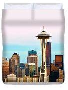 Seattle Daylight Duvet Cover