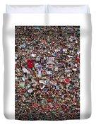 Seattle Gum Wall #2 Duvet Cover
