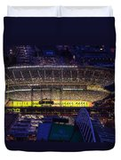 Seattle Mariners Safeco Field Night Game Duvet Cover
