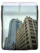 Seattle - Misty Architecture 3 Duvet Cover