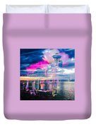 Seattle Rose Duvet Cover