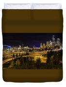 Seattle Rush Duvet Cover