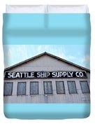 Seattle Ship Supply 2 Duvet Cover