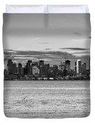 Seattle Skyline 3 Duvet Cover