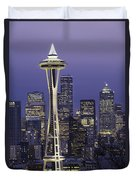 Seattle Space Needle 0200 Duvet Cover