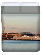 Seattle Stadiums Duvet Cover