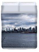 Seattle Sun Breaks Duvet Cover