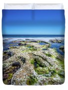 Seaweed And Salt. Duvet Cover by Gary Gillette