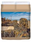 Seaweed Covered Duvet Cover