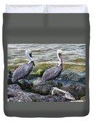 Sebastian Inlet State Park Vii Duvet Cover
