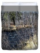 Secluded Brook Duvet Cover