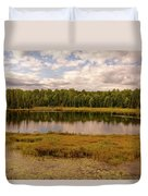 Secluded Lake Duvet Cover