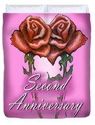 Second Anniversary Duvet Cover