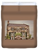 Second Story Cottage Duvet Cover