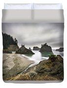 Secret Beach Duvet Cover