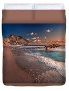 Secret Beach Greece Duvet Cover