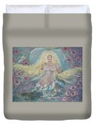 Secret Garden Angel 3 Duvet Cover