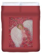 Secret Garden Angel 6 Duvet Cover