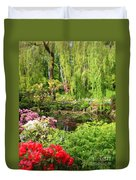 Secret Garden Pond Duvet Cover