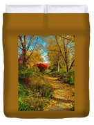 Secret Path Fall Perfection  Duvet Cover