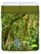 Secret Place By The Water Duvet Cover