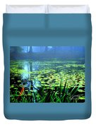 Secret Quiet Pond Duvet Cover