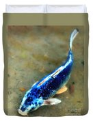 Secrets Of The Wild Koi 18 Duvet Cover