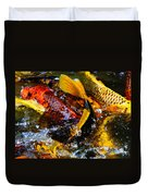 Secrets Of The Wild Koi 2 Duvet Cover