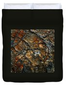Sedimentary Abstract Duvet Cover