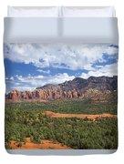Sedona Arizona Landscape Duvet Cover