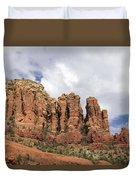 Sedona Arizona Red Rocks Duvet Cover