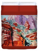 Sedona Arizona Rocky Canyon Duvet Cover