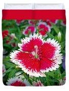 Sedona Dianthus Duvet Cover