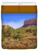 Sedona Landscape - 1 - Arizona Duvet Cover
