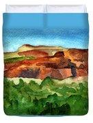 Sedona Landscape Duvet Cover