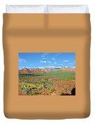 Sedona Landscape2 Duvet Cover