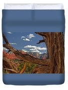 Sedona Mountains Arizona Duvet Cover