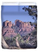 Sedona Red Rocks Framed Duvet Cover
