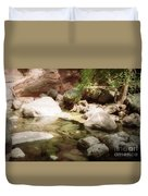 Sedona River Rock Duvet Cover