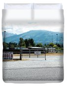 Sedro Wooley Rodeo Duvet Cover