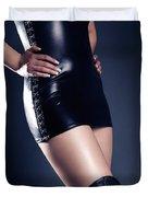 Seductive Woman Duvet Cover