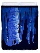 See America, Inside Cave Duvet Cover